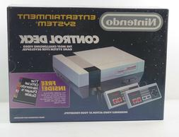 1987 NINTENDO GAME SYSTEM CONTROL DECK GAME CONSOLE  NEW