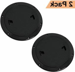 """2 Pack 7"""" Hatch Cover Deck Plate Non Slip Inspection for Mar"""