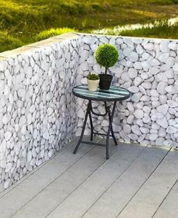 SkyMall Decorative 15ft. Pebble Design Deck and Fence Privac