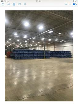 industrial racking and wire decks