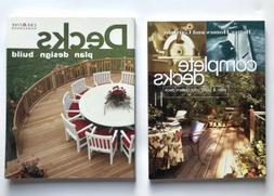 Lot 2 Outdoor Deck Books How To Plan, Design, Build