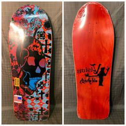 New Reissue Vision Old Ghost Skateboard Deck in Plastic Awes
