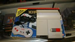 Official Nintendo Nes Top Loader Control Deck Console with d