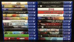 Playstation 4 Games Complete Fun Pick & Choose PS4 Video Gam