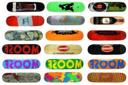 Moose Skateboard Deck Canadian Maple - Choose Graphic and Si