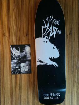 Outlook Skateboards Mike V. and The Rats Ltd Edition Deck Si