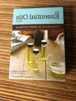 The Essential Oils Deck - Simple Blends for Health and Beaut