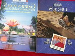 """WOODWORKING  """"DECKS""""&""""GARDEN POOLS"""" MAKE YOUR HOME YOUR OWN."""